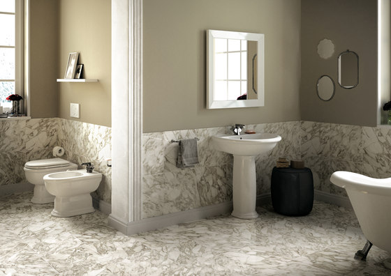 Fidia wc | bidet by Ceramica Flaminia