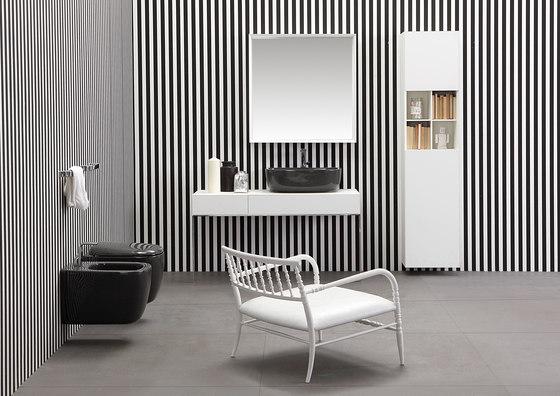Mono'Noke' wc | bidet by Ceramica Flaminia