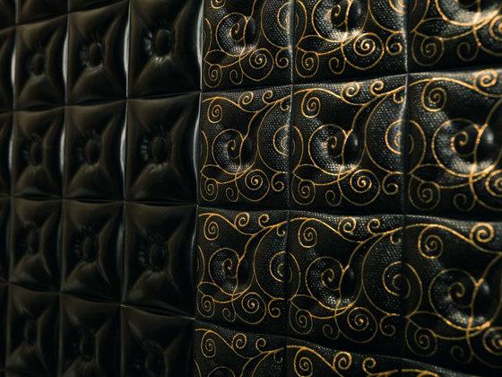 Mosaique Capitone Noir by Dune Cerámica