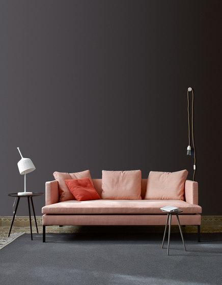 Stricto Sensu Contract   Gran Sofa 2 Plazas Patas De Aluminio Articulo Completo de Ligne Roset