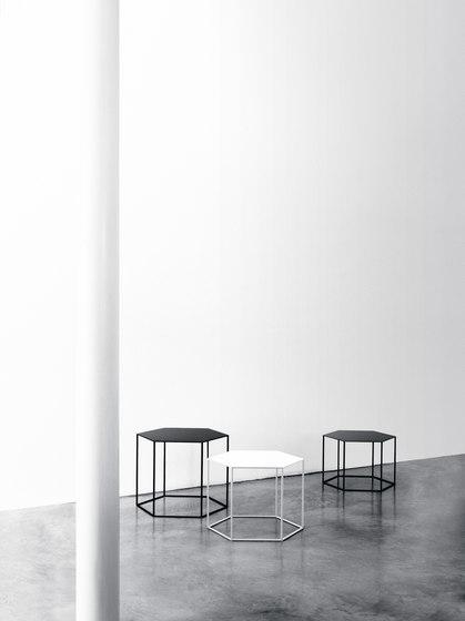 Hexagon small table by Desalto