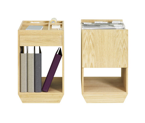 File Drawer & Shelf by ASPLUND