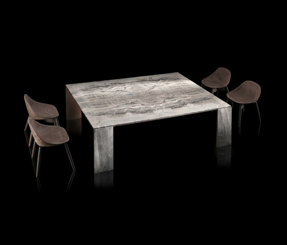 LY-Table - Wood - Metal Mesh de HENGE