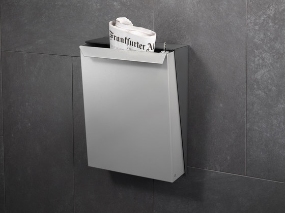 S-box letterbox | stainless steel di Serafini