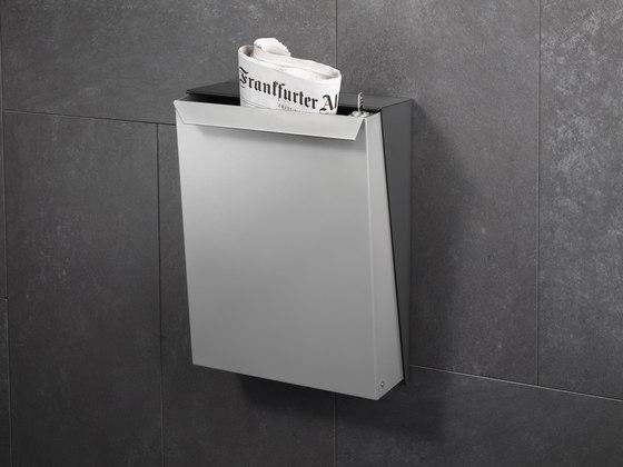 S-box letterbox | stainless steel de Serafini