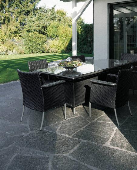 Maggia Granit Platten, spaltrau by Metten