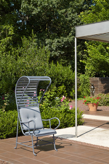 Gardenias Armchair with Pergola by BD Barcelona
