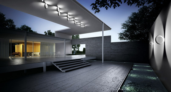 Assolo outdoor soffitto by Cini&Nils
