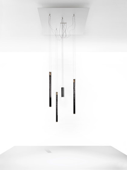 Flying Flames Chandelier by Ingo Maurer