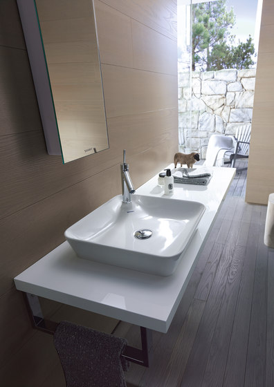 Starck 2 - Above counter basin by DURAVIT