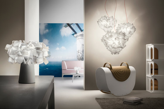 Clizia ceiling by Slamp