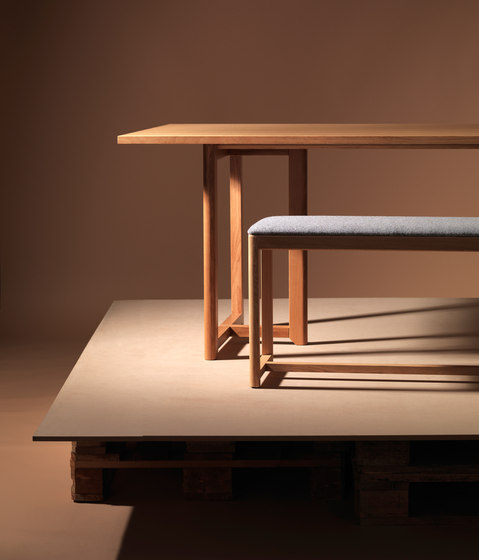 SELERI Dining table by Zilio Aldo & C