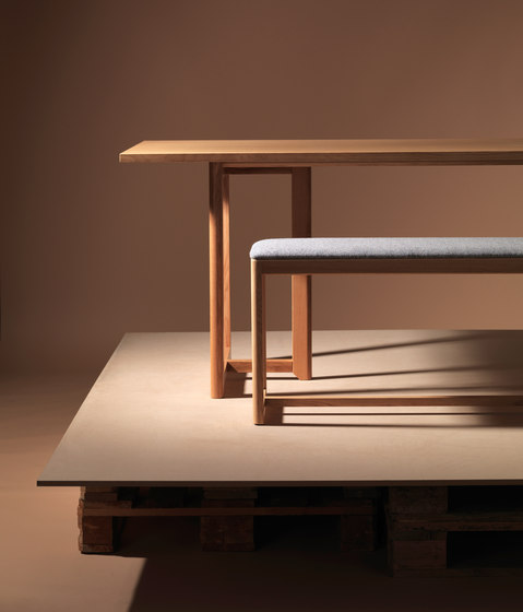 SELERI Dining table de Zilio Aldo & C