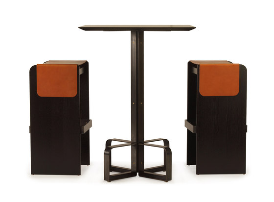 piedmont bar height stool by Skram
