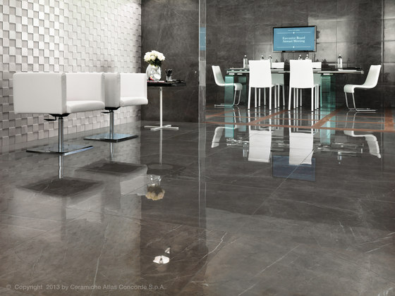 Marvel Floor Gray Stone Floor Tiles From Atlas Concorde