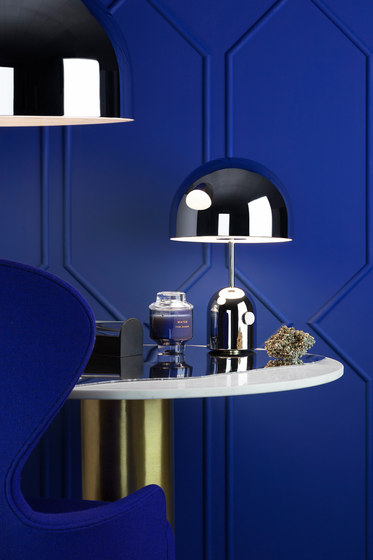 Bell Floor Light Chrome von Tom Dixon