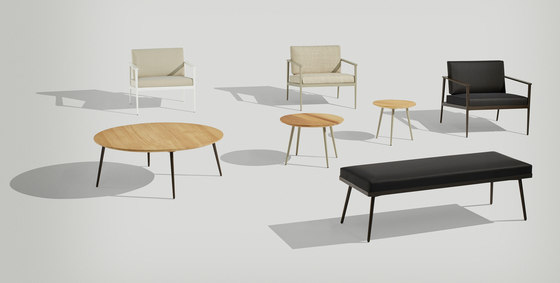 Vint low table 45 iroko von Bivaq