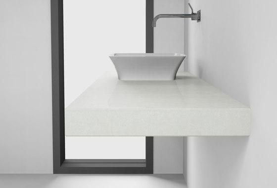Console basin | Design Nr. 1009 – Umbragrau poliert de Absolut Bad