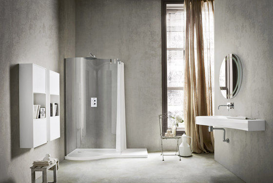 Boma Shower tray and closing by Rexa Design