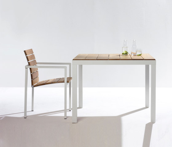 Natal Alu Teak Table by Tribù