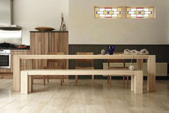 Hindrik Langshout bench by Pilat & Pilat