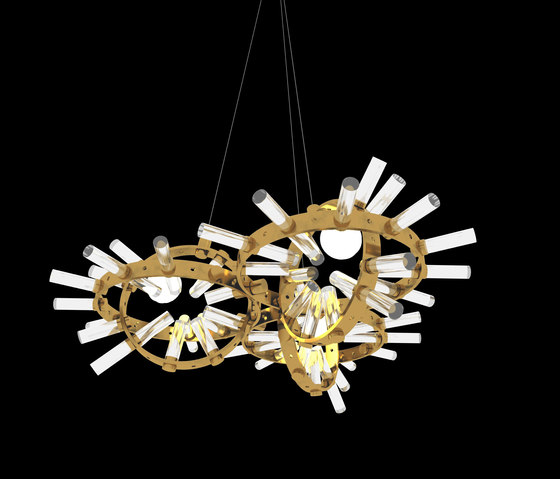 Flexus Elio Chandelier by Baroncelli