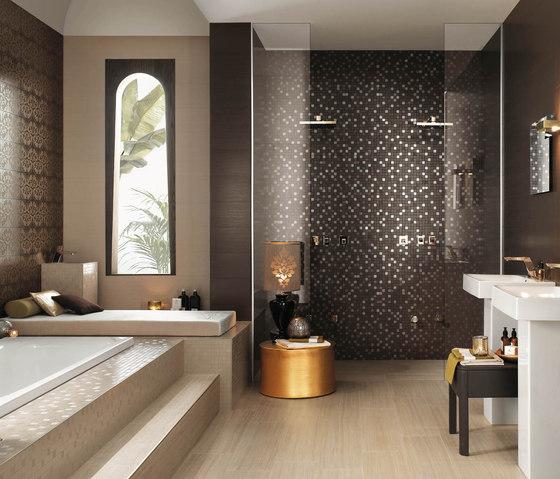 Brilliant de atlas concorde aurore aurore acanthe - Salle de bain couleur chocolat ...