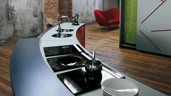 Artematica Curva | Glass by Valcucine