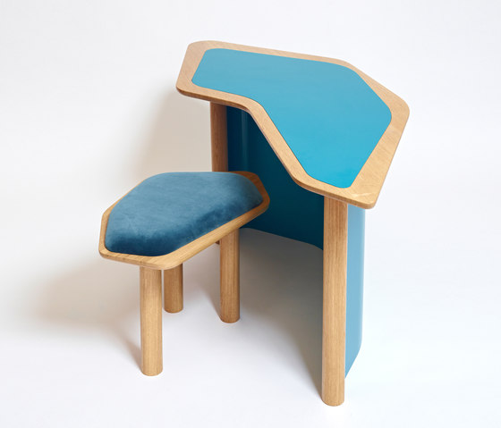Confessional Buro Table by Karen Chekerdjian