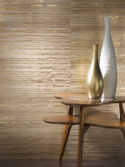 metallic raffia wallpaper