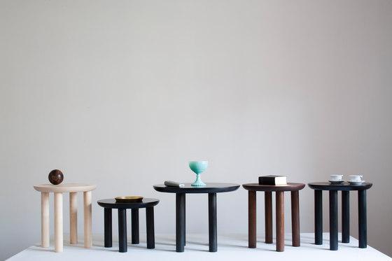 Wing high stool by Karen Chekerdjian