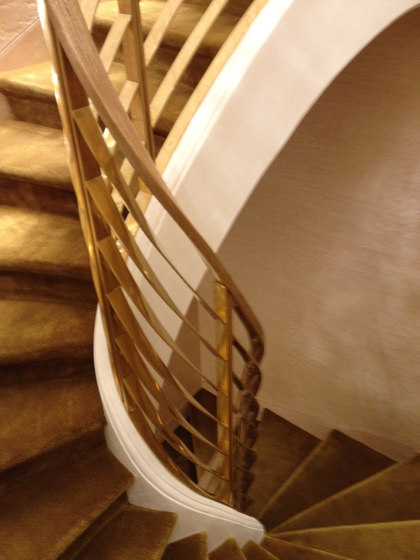 Brass Staircase by YDF