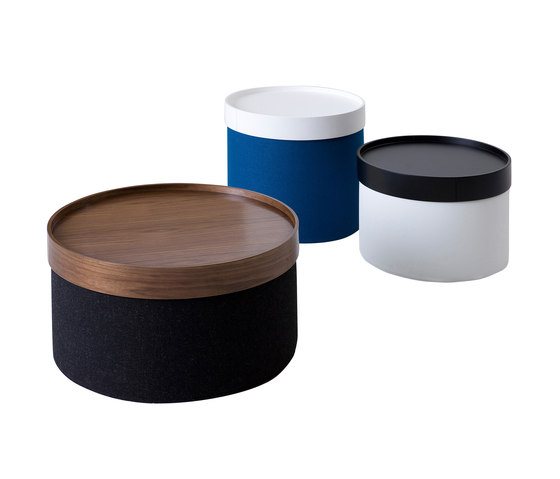 Drum pouf large by Softline A/S