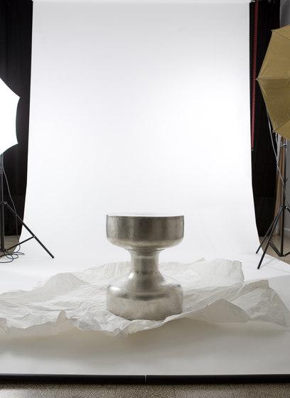 Yoyo stool | side table by Karen Chekerdjian