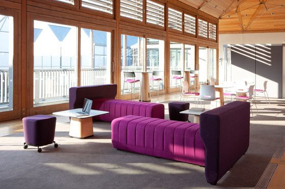 Haven Bench by Allermuir Limited