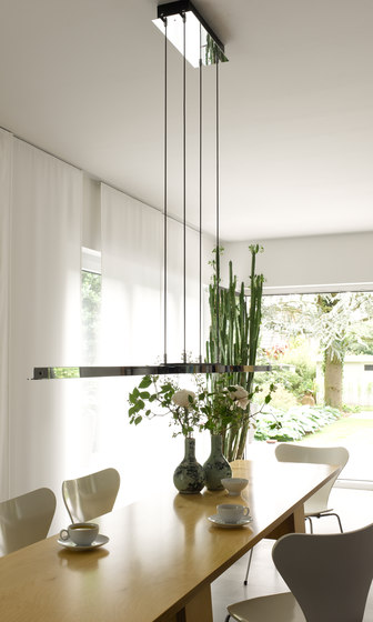 Tender LED Suspended lamp by Anta Leuchten