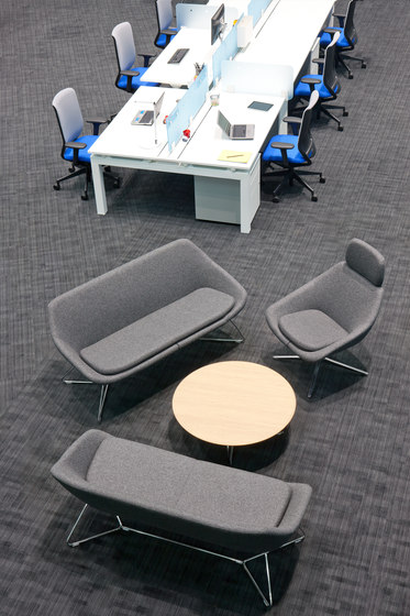 Open Armchairs From Allermuir Limited Architonic