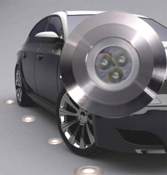 Mini LED recessed floor luminaire by UNEX