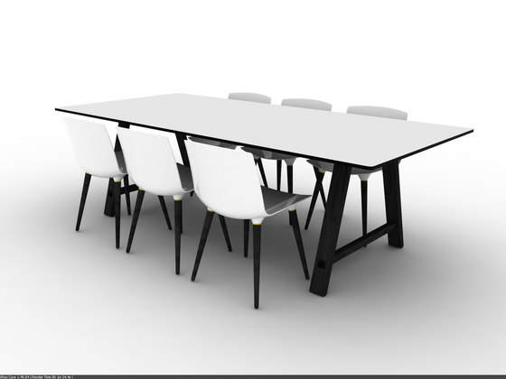Bykato meeting table von Brodrene Andersen
