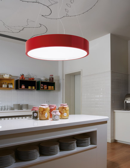 Elea 02 ceiling light by BOVER