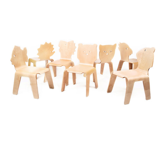 Chair Creatures bear di Riga Chair