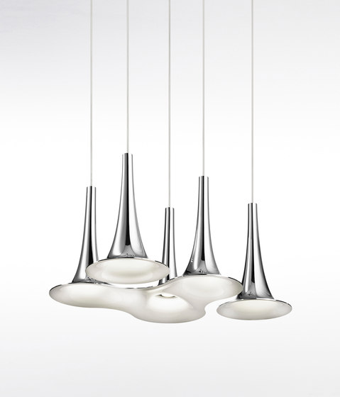 Nafir SP3 white gold by Axo Light