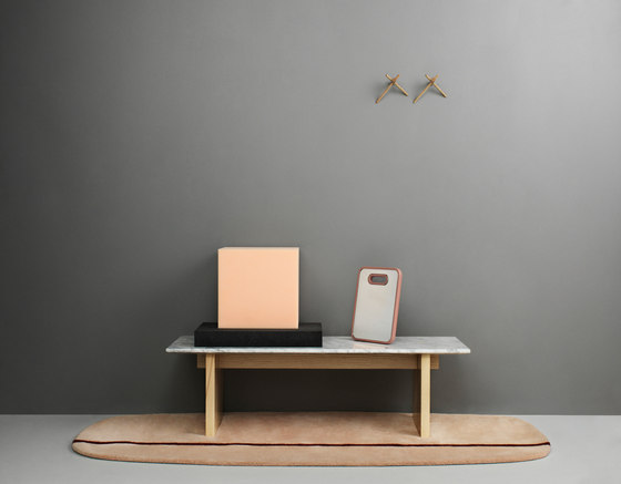 Oona 90 x 200 grey by Normann Copenhagen