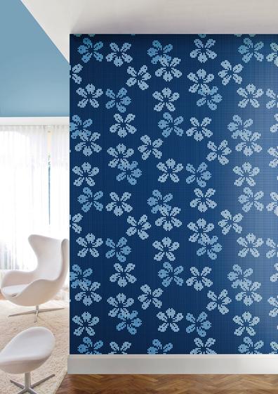 Decor 10x10 Nightbloom Blu by Mosaico+