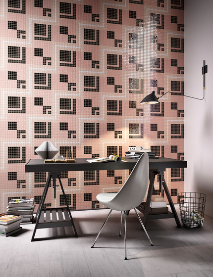 Decor 20x20 Satin Pink by Mosaico+