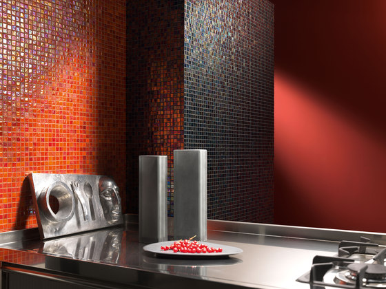 Perle 15x15 Rosso by Mosaico+