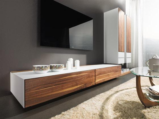 cubus pure wohnen von team 7 cubus pure wohnwand produkt. Black Bedroom Furniture Sets. Home Design Ideas