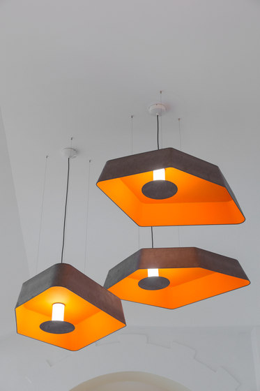 Nenuphar Ceiling lamp large by designheure