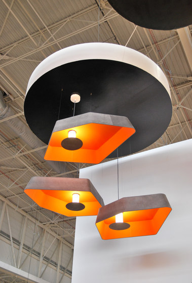 Nenuphar Trio Ceiling large LED by designheure