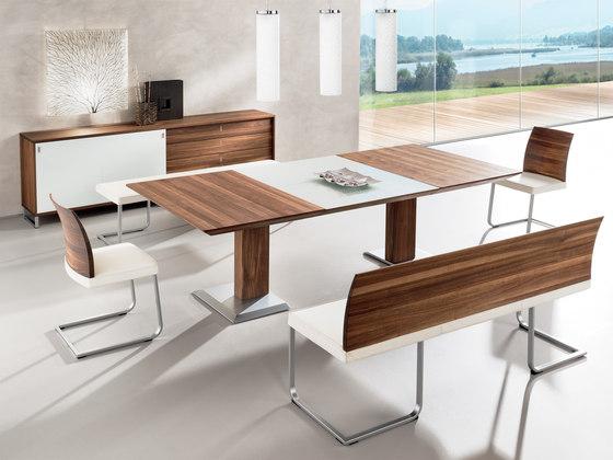 Stretto tavolo estraibile di team 7 prodotto - Tavolo estraibile ...